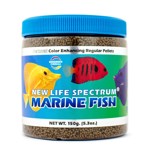 New Life Spectrum Marine Formula 150gram Pellet Fish Food