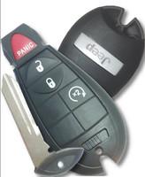 Jeep 4 button Fobik Keyless GO PROX R/S Key 2010 2011 2012 2013