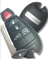 Dodge 5 button Charger or Challenger COMPLETE Fob Fobik Car Key 2008 2009 2010 2011 2012 2013