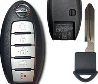 Nissan COMPLETE 5 button Smart Key Push to start OEM 2013 2014 2015