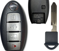 Nissan Smart Key 4 Btn Remote Keyless Entry Push to start fob fobik 2013-15 Altima Maxima