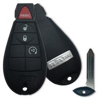 RAM Ram 1500 , Ram 3500 , Ram 2500 56046955 GQ4-53T 1470A-35T Key - Fob / Remote