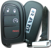 Dodge Ram 1500 2500 3500 4500 5500 (2013-17) COMPLETE Ram Genuine OEM Proximity Key Remote Fob W/ Remote Start