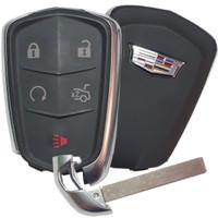 Cadillac CTS XTS ATS Proximity Key Keyless remote Entry Fob Fobik Shield Logo 2014 2015 2016 2017