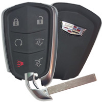 Cadillac Escalade Proximity Key Keyless remote Entry Fob Fobik Shield Logo 2015 2016 2017