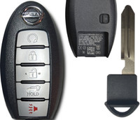 Nissan 5 btn Hatch SUV S180144008 , 285E3-9PB5A  KR5S180144014 Smart Key Push to start Hatch SUV OEM 2013 2014 2015 2016