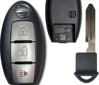 Nissan Rogue 3 button Smart Key Push to start OEM 2014 2015 2016