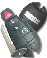 Dodge 4 button Fobik Smart Key OEM W Remote Start