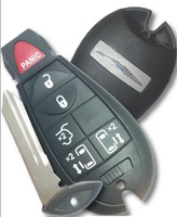 Chrysler 6 Btn keyless COMPLETE Remote Fob Fobik Smart Key Power slide door OEM
