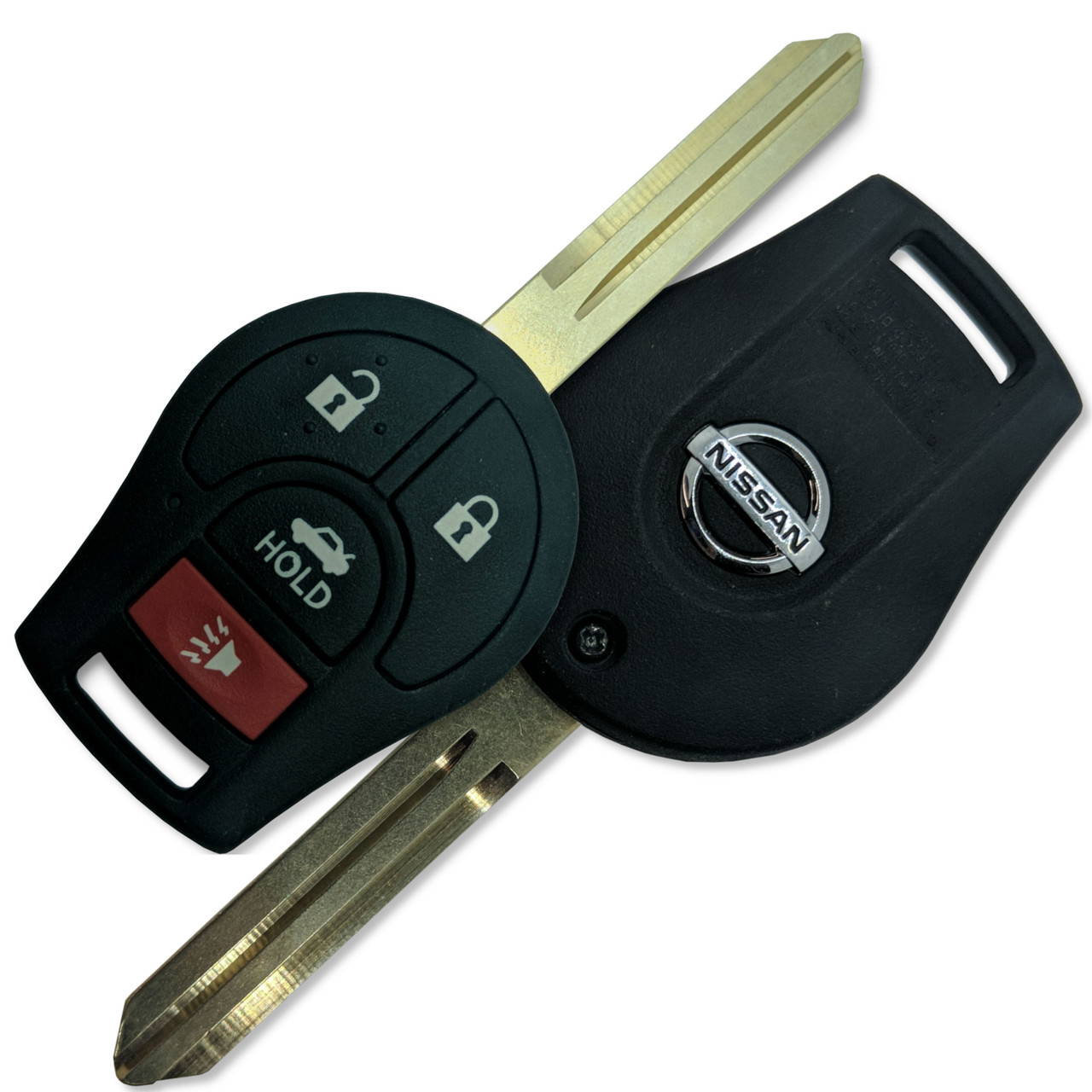 2 for 2014 2015 Nissan NV1500 200 2500 3500 Versa Keyless Remote Car Key Fob