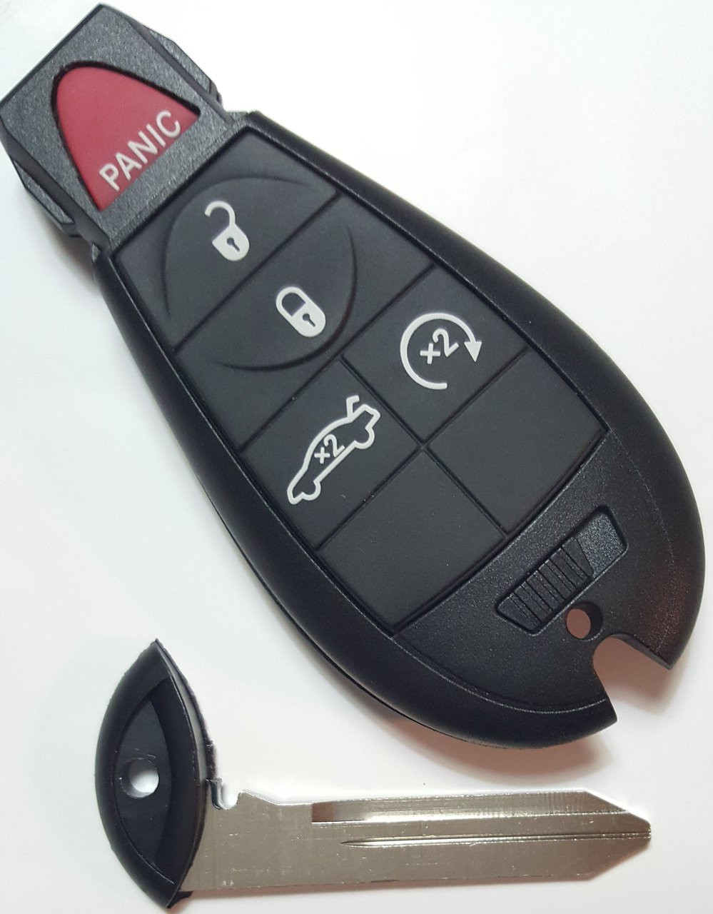 Dodge PROXIMITY (Push-to-start) 5 button Charger or Challenger Fobik Car  Key 2008 2009 2010 2011 2012 2013