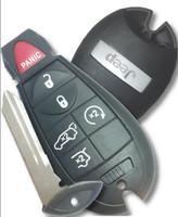 Jeep 6 button Fobik Smart fob Key trunk, remote start hatch 2008 2009 2010 2011 2012 2013