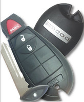 RAM 2009-2012 3 button COMPLETE OEM Fob Fobik Smart Key Remote panic lock unlock