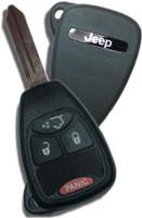 Jeep 4 button RemoteHead Key OEM 2008 2009 2010 2011 2012 2013