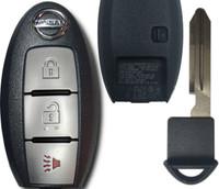 Nissan Pathfinder 3 Btn S180144014 285E3-9PB3A Remote Key Fob