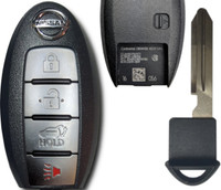 Nissan Rouge 4 Btn KR5S180144106 285E3-4CB6C Remote Key Fob