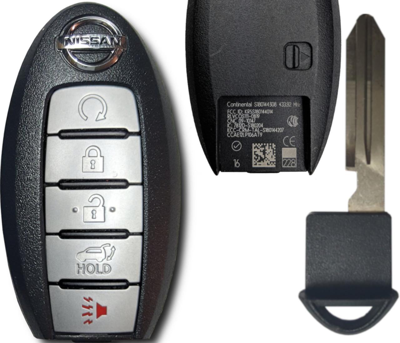 NEW Keyless Entry Key Fob Remote For a 2011 Nissan Rogue 3 BTN Smart Key