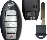 Nissan Murano Pathfinder 5 Btn S180144308 285E3-5AA5C Remote Key Fob KR5S180144014