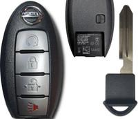 Nissan Titan Pathfinder Murano 4 Btn S180144313 285E3-5AA3D Remote Key Fob KR5S180144014