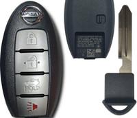 Nissan Altima or Maxima 4 Btn S180144324 285E3-9HS4A Remote Key Fob KR5S180144014