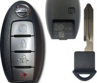 Nissan Murano Pathfinder Titan 4 Btn TXN6 285E3-9UF5B Remote Key Fob S180144904