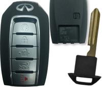 Infiniti QX60 5 Btn KR5TXN7 285E3-9NR5B Remote Key Fob S180144708