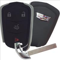 Cadillac ATS , CTS , XTS 4 Btn HYQ2AB Remote Key Fob 13598506