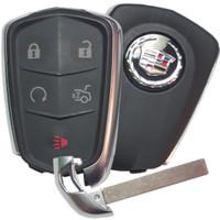 Cadillac ATS , CTS , XTS 5 Btn HYQ2EB Remote Key Fob 13580793F