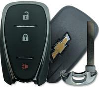 Chevrolet Spark , Sonic , Equinox 3 Btn HYQ4AA Remote Key Fob 13508766