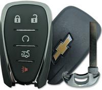 Chevrolet Cruze , Camaro , Malibu 5 Btn HYQ4EA Remote Start Key Fob 13508769