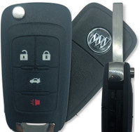 Buick 4 Btn 13500227 Remote Key Fob OHT01060512