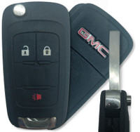 GMC Terrain 3 Btn Virgin 20835402 Remote Key Fob OHT01060512