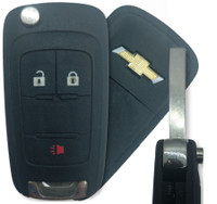 Chevrolet 3 Btn 20835406 Remote Key Fob OHT01060512
