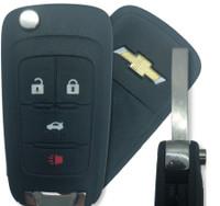 Chevrolet 4 Btn 13586120 Remote Key Fob KR55WK50073