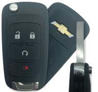 Chevrolet Sonic 4 Btn 13575177 Remote Key Fob KR55WK50073