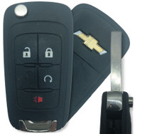 Chevrolet 4 Btn 20835404 Remote Key Fob OHT01060512