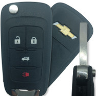 Chevrolet 4 Btn 13500222 Remote Key Fob OHT0106512