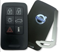 Volvo S60 , S80 , V40 , V60 , V70 , XC60 , XC70 30659495 , 30669839 KR55WK49266 267T-5WK49266 Proximity Smart Key (with Push to Start)