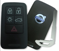 Volvo S60 , S80 , V60 , V70 , XC60 , XC70 , S60 XC , S60L , V60 XC 30659549 KR55WK49264 267T-5WK49266 Proximity Smart Key (with Push to Start)