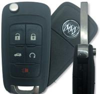 Buick 5 Btn PEPS Prox  Remote Key Fob P409MK74946931