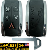 Jaguar XK XF 5 button Smart Key Push to start OEM 2007 2008 2009 2010 2011 2012 2013 2014