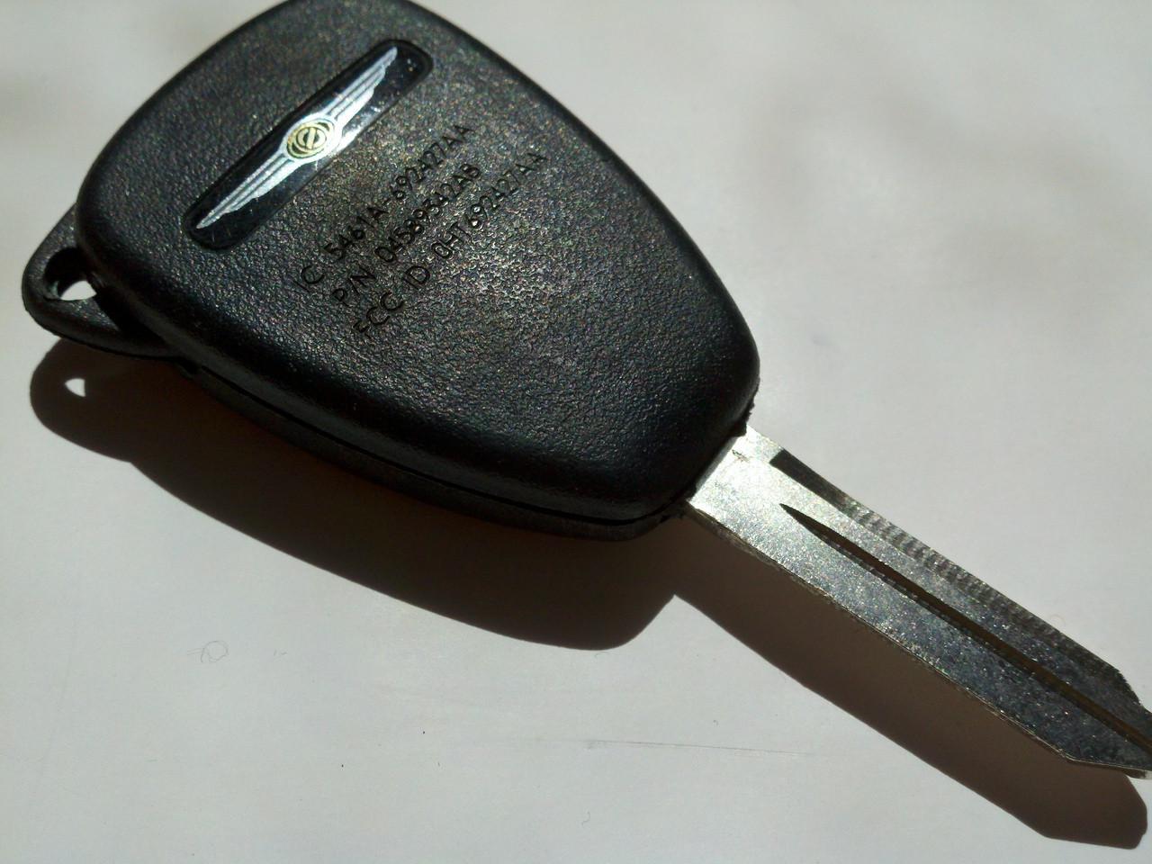 Chrysler 6 button Sebring 200 COMPLETE KEY FOB convertible OEM