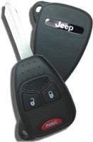 Jeep 3 button RemoteHead Key OEM