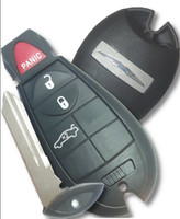 Chrysler 4 button Trunk COMPLETE fob Fobik Smart Key OEM remote 300 300C