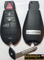 Dodge Dart 4 button Fobik Fob trunk Key remote  2013 2014 2015 2016