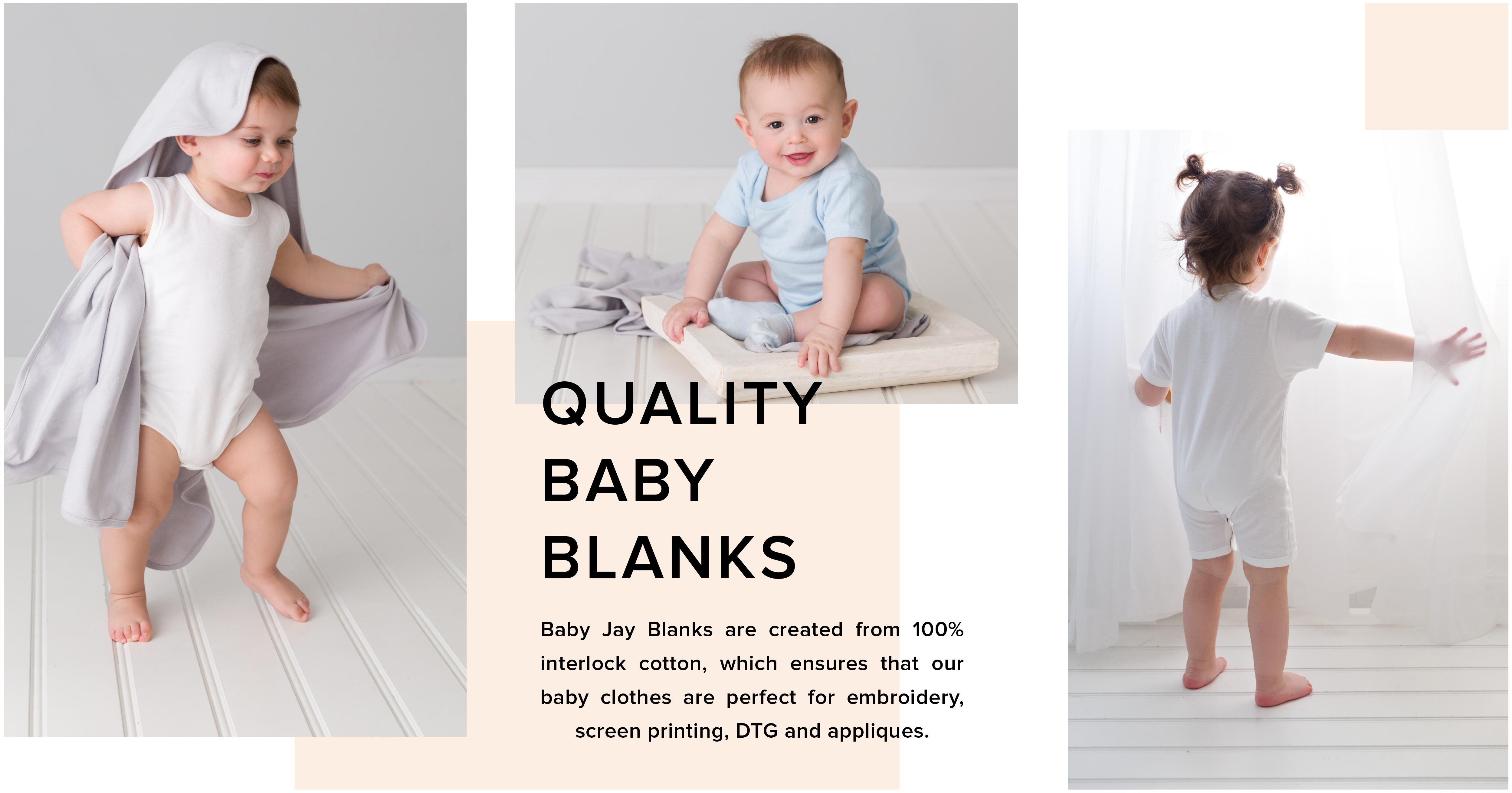 Baby Jay Wholesale Baby Blanks