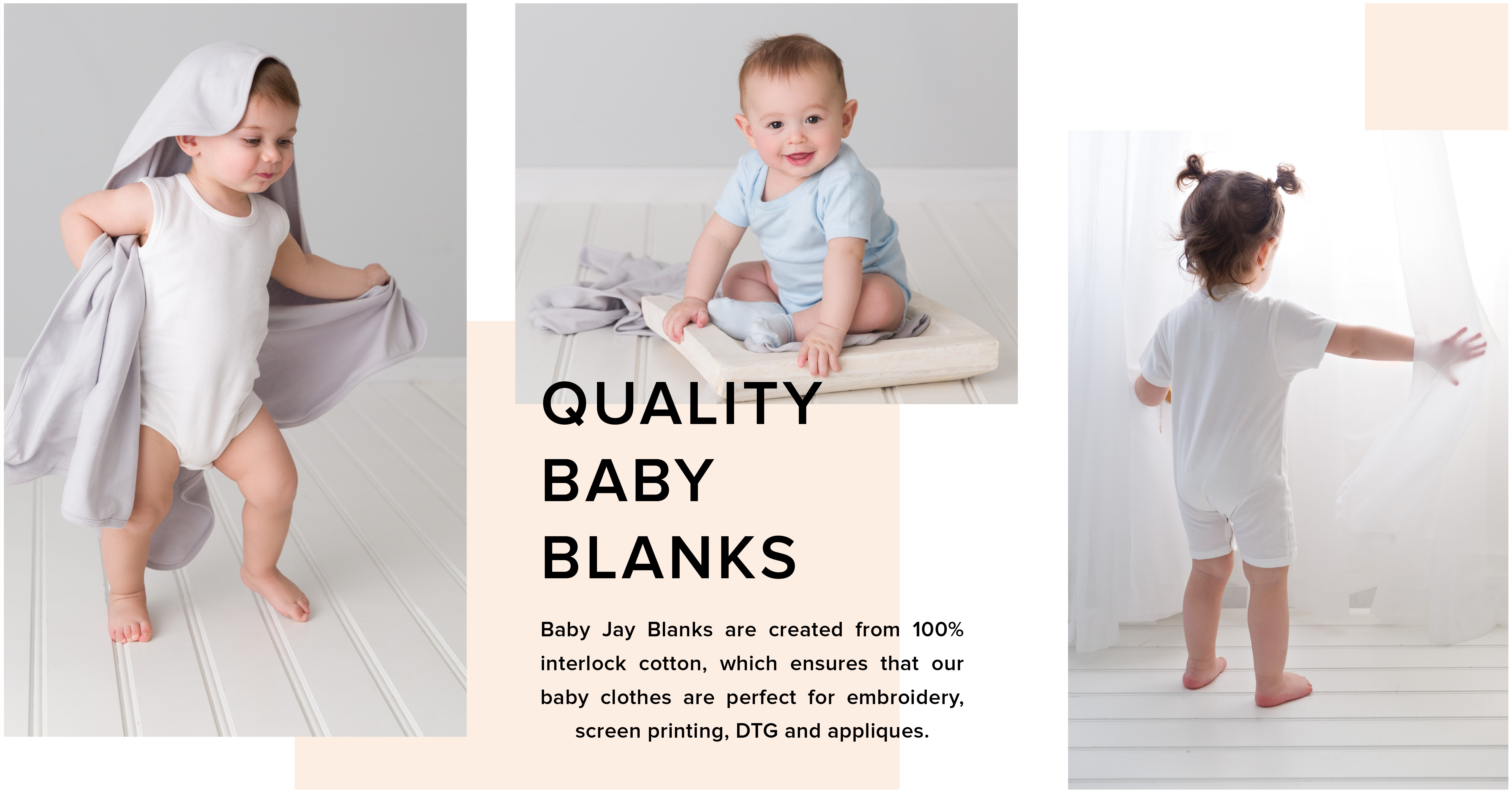 Baby Jay Wholesale Baby Blanks