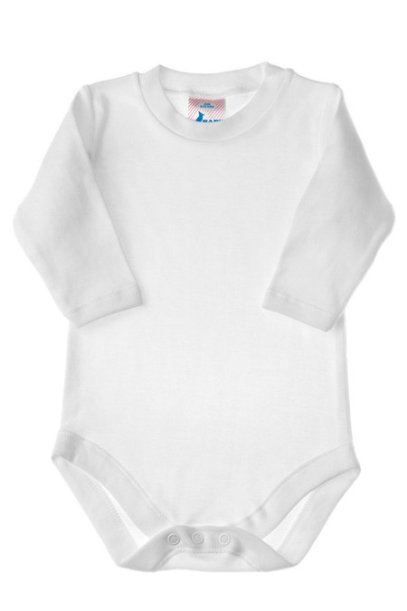 long sleeve bodysuit, blank bodysuit, onesie for decorating, printable onesies, printable bodysuits, wholesale onesie