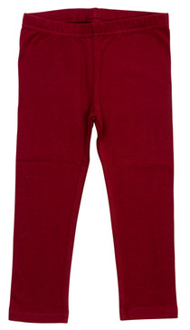 Fitted Leggings-  Pomegranate