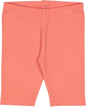 Fitted Short Leggings- Coral